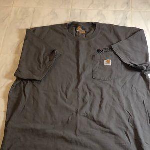 Cathartt grey short sleeve original t shirt.EUC